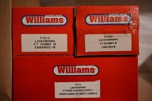 WILLIAMS - LACKAWANNA F7 ABBA - MINT - OB'S