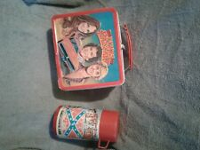 dukes of hazard lunch box with thermos early 1980's