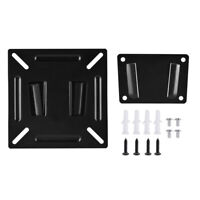 Fixed Slim TV Wall Mount Bracket For 12-24 Inch Flat Screen LED LCD TV PC Screen