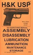H&K USP DO EVERYTHING MANUAL DISASSEMBLY CARE BOOK NEW