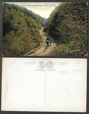 Old Canada Postcard - Kentville, Nova Scotia - Road to the Look-Off