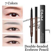Waterproof Eye Brow Eyeliner Eyebrow Pen Pencil With Brush Makeup Cosmetic ES