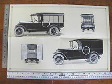 1924 Dodge Brothers Commercial Cars Dealers Sales Brochure Literature Original