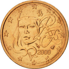 [#466521] France, 2 Euro Cent, 2000, SUP+, Copper Plated Steel, KM:1283