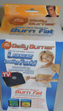 Belly Burner Weight Loss Belt, Black, One-Size Fits All Up To 50inch Waist