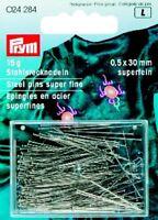 Stecknadeln Stahl  rostgeschützt Nr. 6 superfein 024284