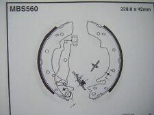 Bmw 316/318/320/324d rear brake shoes (mbs560) (82 - 91)