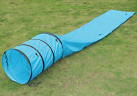 2017 New 15ft Pet Dog Tunnel Portable Obedience Agility Training Dog Supply