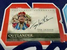 Cryptozoic Outlander Season 4 Tom Jackson as Tehwahsehwe Autograph