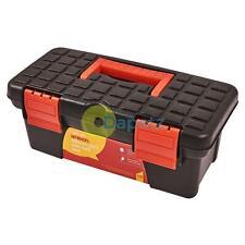 "10"" Mini Plastic Tool Box Removable Tray Storage Builder Diy Fishing Garage Bag"