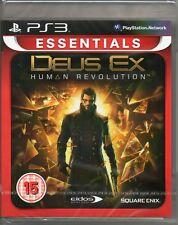 DEUS Ex: HUMAN Revolution Game PS3 ~ nuovi/sigillati