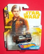 HOT WHEELS STAR WARS - NEW - HAN SOLO - CHARACTER CARS - A SOLO MOVIE