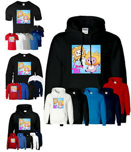 Lankybox T Shirt Foxy Boxy Hoodie Youtuber Merch Gaming Kid Boys Sweatshirt Gift
