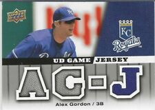 2009 Upper Deck Baseball - UD Game Jersey - #GJGO - ALEX GORDON - JSY