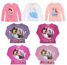 Magliette, maglie e camicie per bambine dai 2 ai 16 anni