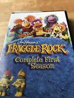 Fraggle Rock TV Series Complete First Season 1 RARE OOP Jim Henson Dvd