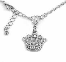 Crown necklace Crown Gift chain Princess Present Princess Pendent Crown Jewelry