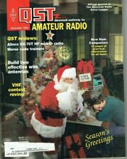 QST Magazine December Alinco DX-70T Transceiver Product Review  USED