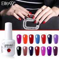 Elite99 Gel Polish Color Varnish Nail Art Soak Off Base Top Coat Manicure 15ml