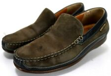 Mephisto Baduard Cool Air  $300 Men's Loafers Size 8.5 Nubuck Leather Brown