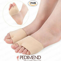 PEDIMEND Metatarsal Sleeves - Ball of Foot Pads - Protection of Metatarsal Heads