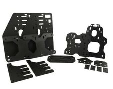 , Nuovo di Zecca inutilizzati OX CNC Alluminio Piastre kit completo, colore nero anodizzato