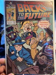 Back To The Futrure Special 1 Harvey 1991 Frank Brunner Promo CBS