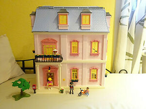 Playmobil 5303 Romantisches Puppenhaus mit Einrichtung & Klingel