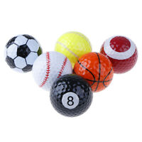 Outdoor Sports Golf Ball Game Strong Resilience Force Sports Practice Ball EB