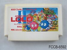 Adventures of Lolo 2 II Famicom Japanese Import FC NES Nintendo US Seller B/Good