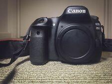 Like New Canon EOS 80D Digital SLR Camera (Body Only) Shutter 10628, no box