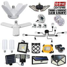 Home Garden Indoor/Outdoor LED Light Deformable E27 Ceiling / Solar Sensor Lamp