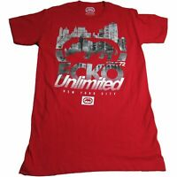 Ecko Unltd. Unlimited Men's Street Reflections Logo Printed Graphic Tee T-Shirt
