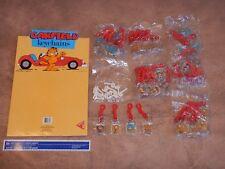 Original 1978 Garfield Keychain Complete Store Display, 48 Keychains Nos