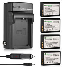 LP-E10 Battery + Charger For Canon Rebel T6 T5 T3 EOS 1100D 1200D 1300D Kiss X50