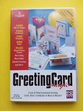 GREETING CARD MAGIC ( 1 PC CD-ROM )
