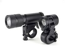 LED Mountain Bike Bicycle Aluminium Light Set Front/Rear Waterproof Torch Light
