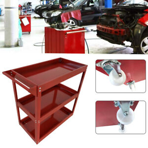 New Workshop Tool Trolley Cart 220lb Rolling Storage Workshop Transport USA