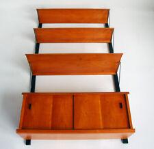 Pira - Hyllsystem - Floating Hanging Wall Mount Cabinet Credenza - 1950's