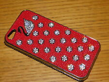 SWAROVSKI strass CASE IPHONE 5 coque TELEPHONE portable PHONE diamant CYGNE swan