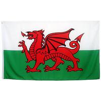 Fahne Wales Querformat 90 x 150 cm walisische Hiss Flagge