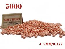 5000 x 4.5mm / 0.177 PREMIUM GRADE PELLETS METAL BALL BB STEEL AIRGUN PISTOL BBS