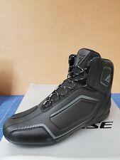 Dainese Raptors Shoes Herren Motorrad Schuhe Schwarz Grösse: 44