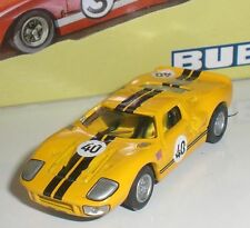 BUB 08105 FORD GT 40 #40 RACING LIMITED EDITION DIECAST ECHELLE 1:87 HO NEW OVP