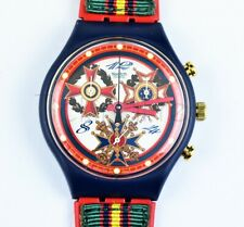 1995 Swatch Watch Chrono The Top Brass SCN116