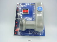 Schwaiger LNB twin universale x kit satellitare x 2 utenti analogico e digitale