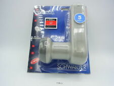 Schwaiger LNB universal doble x kit por satélite 2 usuarios analógico y digital
