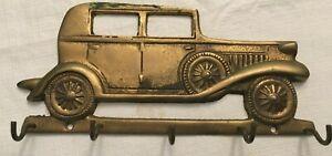 Vintage Fritz Brass Car Key holder