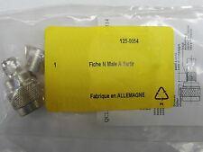 fiche connecteur N mâle 50ohms 125-0054 à sertir RG213/U j01020A1175 Telegardner