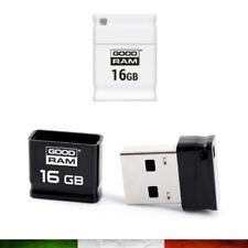 MICRO MINI CHIAVETTA USB FLASHDRIVE EMTEC S100 16 GB PICCOLA DA AUTO GOODRAM